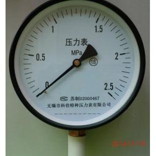 普通压力表Y100