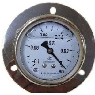 耐震真空压力表量程
