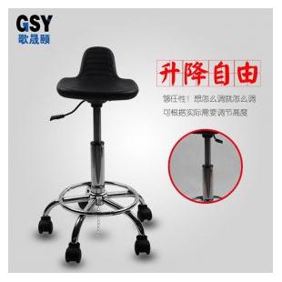 东莞歌晟颐防静电凳子靠背 pu发泡防静电靠背扶手椅