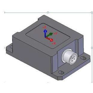 無錫布里淵MMS-A01型三軸有線加速度傳感器