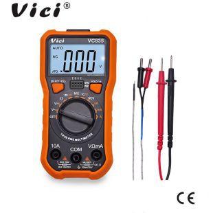 維希VICI 三位半真有效值自動量程數字萬用表VC835 NCV功能