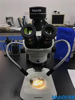 明美新款显微镜相机