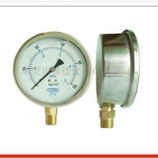 100MM径向耐震油压表