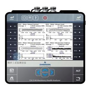 艾默生AMS振动分析仪_机械健康故障诊断分析仪