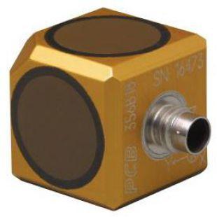 美国PCB三轴高灵敏度陶瓷剪切ICP®加速度传感器356B18