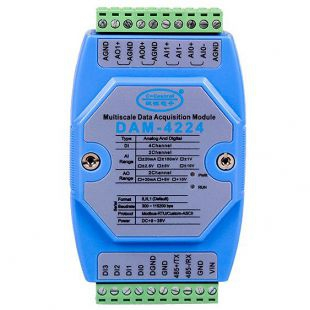 模拟量输入输出模块DAM-4224深圳诚控电子