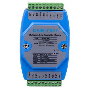 模擬量輸入模塊DAM-7041廠家誠控電子