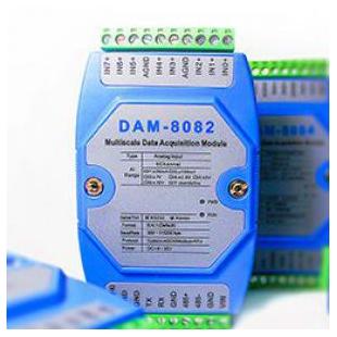 高精度模拟量输入模块DAM-8082厂家诚控电子