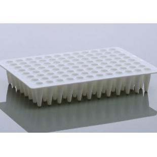 无锡耐思NEST、0.1 mL PCR96孔板,无裙边,矮管,透明,H12切角、402101