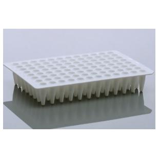 无锡耐思NEST、0.2 mL PCR96孔板,无裙边,高孔缘,透明,H12切角、402201