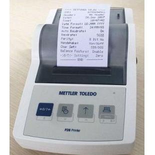 梅特勒P26打印机