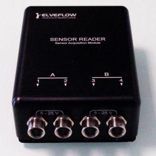 通用微流控實驗用流量和壓力傳感器讀數器MSR
