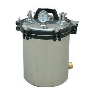 濱江醫療手提式蒸汽滅菌鍋YX-18LM 手提式煤電加熱滅菌器