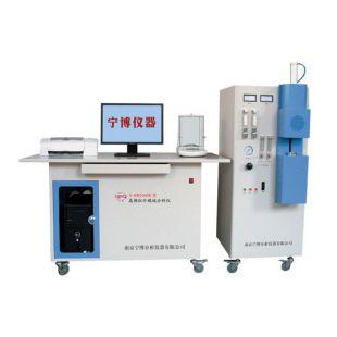 南京宁博高频红外碳硫分析仪N-HW2000B型