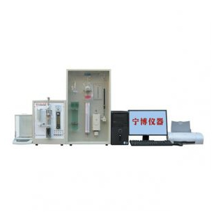 南京宁博全自动电脑碳硫联测分析仪NQR-5型