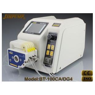 重庆杰恒BT-100CA液晶显示灌装蠕动泵!