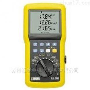 单相电能质量分析仪C.A 8220
