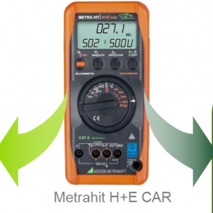 数字绝缘电阻测试仪METRAHIT H+E Car等电位均衡测试仪
