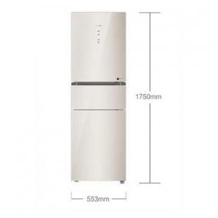 海尔电器219升风冷无霜彩晶变频三门冰箱