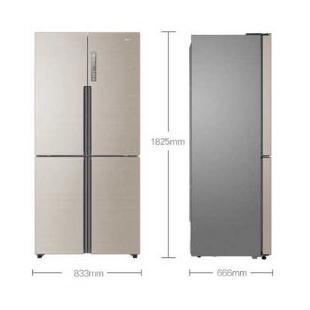 海尔电器458升双变频风冷无霜智能十字对开门冰箱