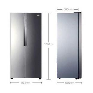 海尔电器450升 风冷无霜对开门冰箱
