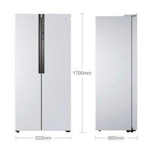 海尔电器452升风冷无霜对开门冰箱