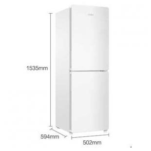 海尔电器169升风冷无霜简约两门冰箱