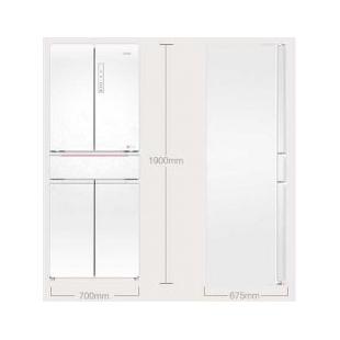 海爾電器415升風冷無霜中字五門冰箱