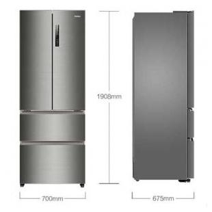海尔电器453升无霜变频四门冰箱