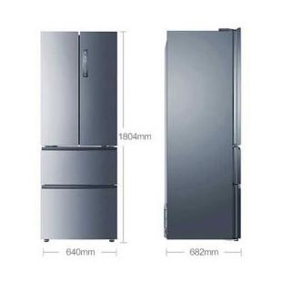 海尔电器343升风冷无霜法式四门冰箱