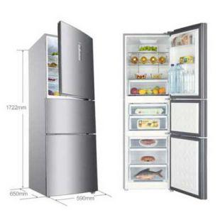 海尔电器231升 风冷无霜 三门冰箱