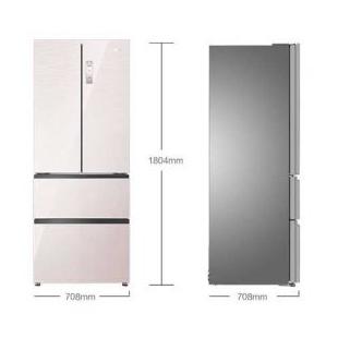 海尔电器407升 变频风冷无霜多门冰箱