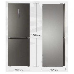 海尔电器320升 变频风冷无霜两门冰箱