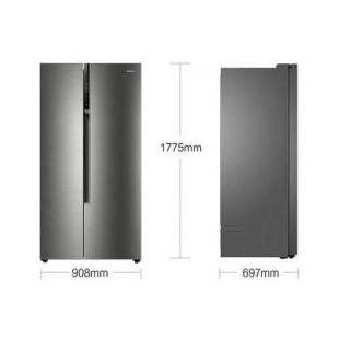 海尔电器590升无霜双变频对开门冰箱