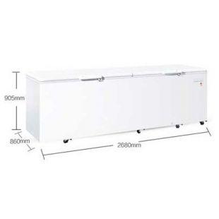 海尔1028升大容 量商用冷柜冷藏冷冻柜