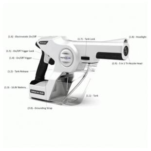 PX200ES手持式靜電消毒噴霧器--美國EVACLEAN
