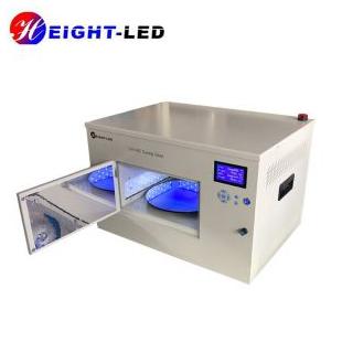 深圳海特奈德 UV固化炉内部底盘带旋转多面出光