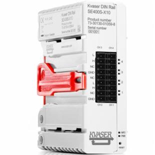 Kvaser DIN Rail SE400S-X10型号01059-8总线分析仪