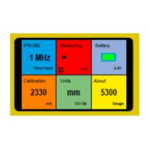 5300GRP超声波测厚仪
