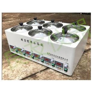 六孔数显磁力搅拌器水浴箱