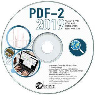 PDF-2 2019衍射數據庫卡片