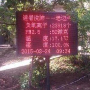 腾宇电子旅游景区负氧离子在线监测系统FM-FY-L-300