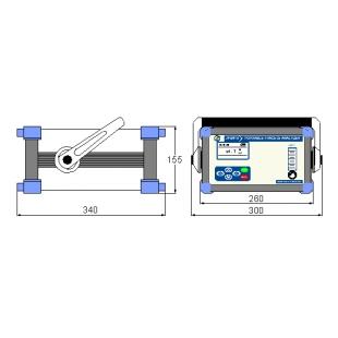 JY-B410便携式微量氧分析仪