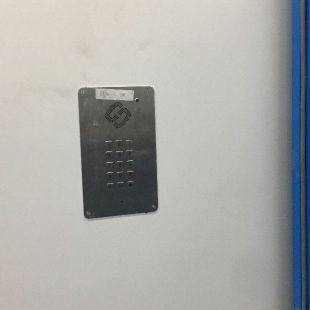 不锈钢洁净室电话机带数字键盘和对讲按钮