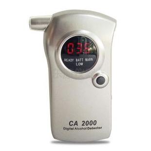 雨沃CA2000高精度酒精检测仪交警专用可充电