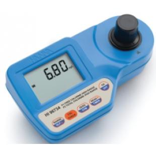意大利哈纳HI96734余氯总氯微电脑测定仪原装进口