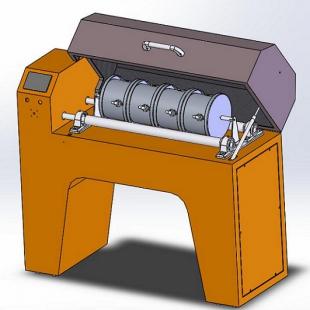 旺轩科技集料微型狄法尔法磨耗试验仪WXDFM-1
