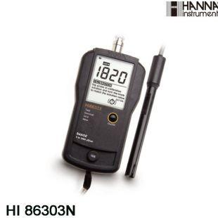 HANNA/哈納 HI86303N HI86304N 便攜式電導率測試儀 蘇州賽力威直供