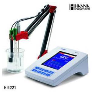 Hanna/哈纳 HI4221台式酸度计测定仪 苏州代理