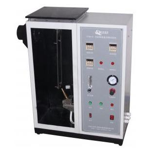 纺织物垂直燃烧试验箱 纺织物垂直阻燃性能测试仪